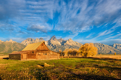 Barn on Mormon Row - Antelope Flats