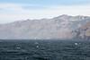 Sailboat and Santa Cruz Island.