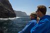 We skirted the southwestern shores of Santa Cruz Island.