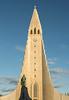 Reykjavik - Lutheran Church Hallgrimskirkja & Statue of Viking Leifur Eriksson
