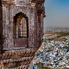 Jodhpur - The Blue City - Photographed from Mehrangarh Fort