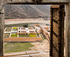 The Gardens of Amer (AKA Amber) Fort as seen from Amer Palace