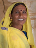 Indian Woman in Amer (AKA Amber) Palace