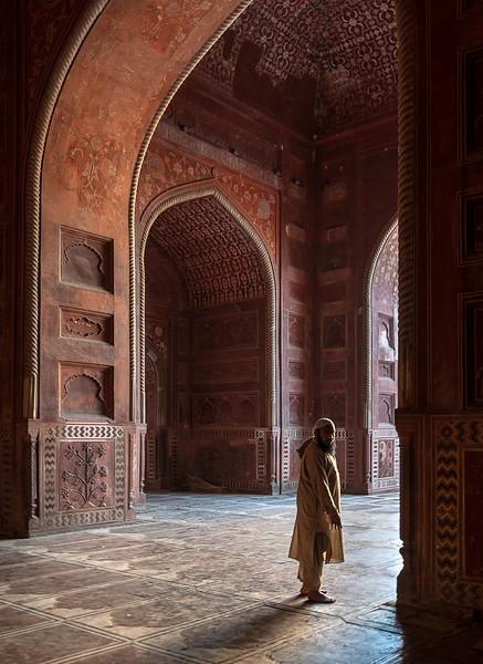 Taj Mahal - Inside the Mosque