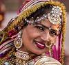 Indian Woman in the Gardens at Jai Mahal Palace - Jaipur