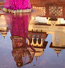 Reflection in a Water Puddle in the Gardens at Jai Mahal Palace - Jaipur