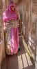 Beautifully-attired Sweeper in Mehrangarh Fort - Jodhpur