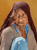 An Elderly Woman in Jaisalmer Fort and Market