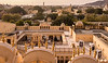 Palace of the Winds - View from the Top with Jantar Mantar seen in the Distance - Jaipur