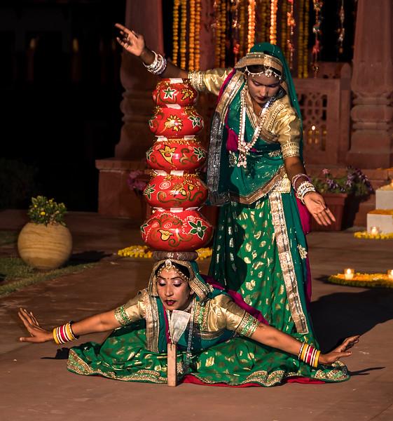 Dancer at Jai Mahal Palace - Jaipur