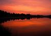Sunrise at Nasby Dam