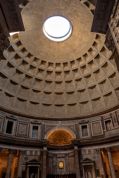 The Pantheon - Completed in AD 128