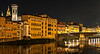 Night Scene - Arno River - Florence, Italy
