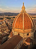 Santa Maria del Fiore (Duomo) Photographed from the Campanile- Florence, Italy  -