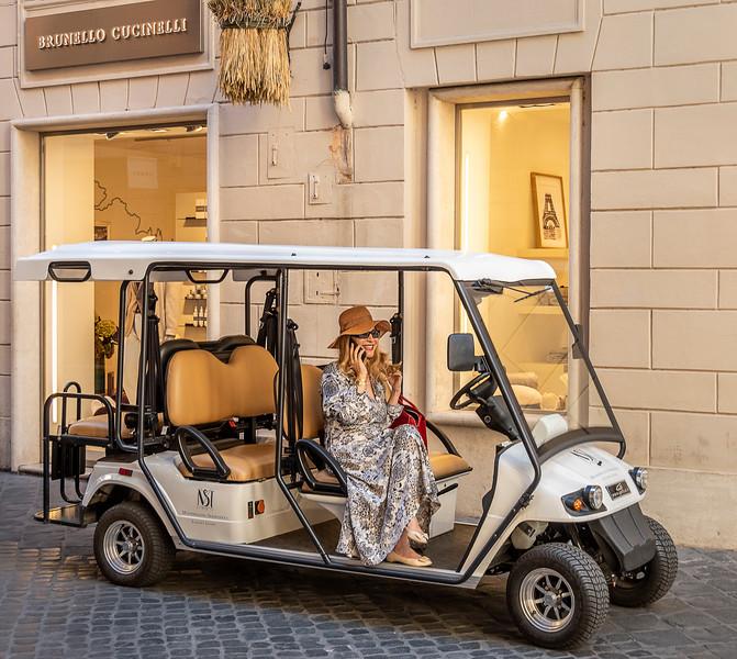 Street Scene - Rome
