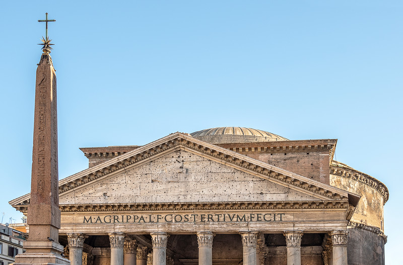 The Pantheon - Completed in AD 128 - Rome