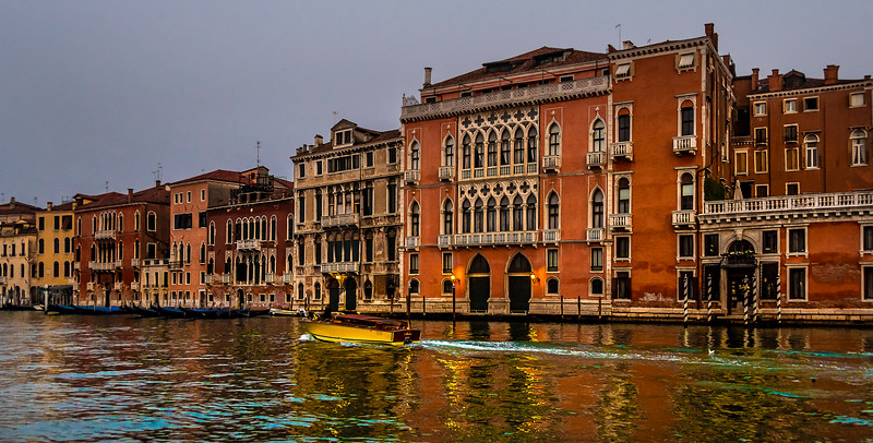 Early morning on the canal - Venice