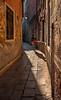 Veneitan alley in the early morning