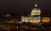St. Peter's Basilica - Vatican City at Night