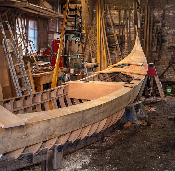 Gondola Workshop - Venice, Italy