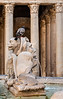 Statuary & Fountain at the Pantheon - Rome