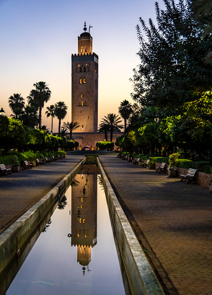Katoubia Mosque - Marrakech