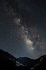 Milky Way & the High Atlas Mountains at Kasbah du Toubkal  - View from the KAsbah's Terrace