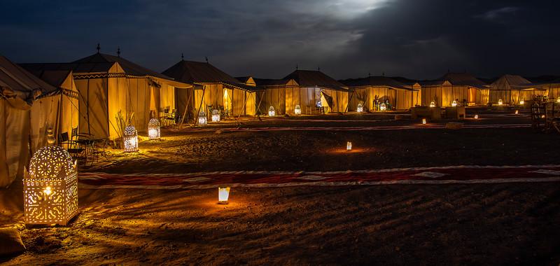 The Sahara Desert - The Desert Camp
