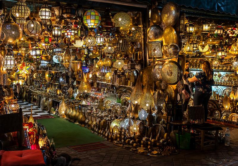 Djemma el Fna Square - Marrakech