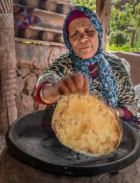 Bread Making at Kasbah du Toubkal