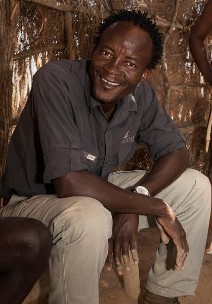Wilderness Safaris Guide, Erwin