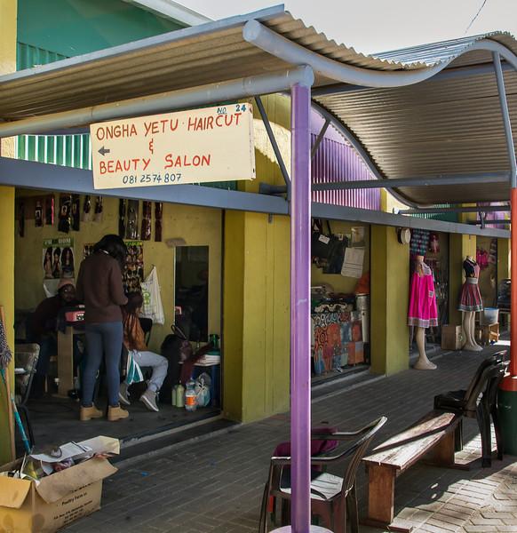 The Hair Salon at Oshetu Community Market