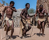 Damara People performing traditional dance