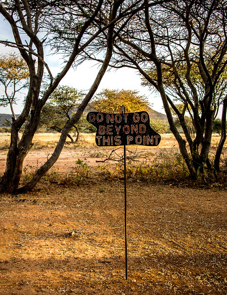 View from the Room at Okonjima Plains Camp