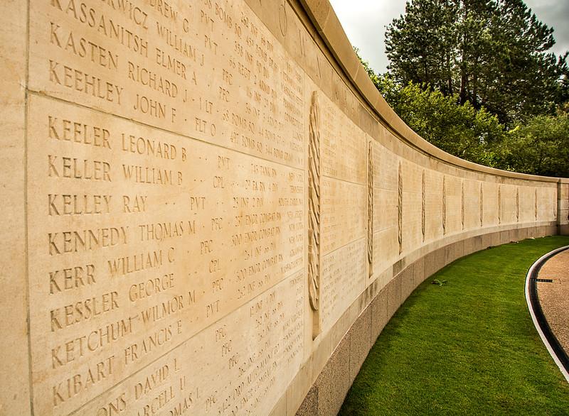 Normandy American Cemetery - Omaha Beach