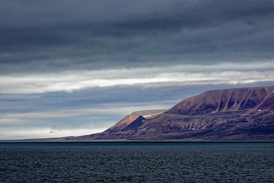 A moody aspect of Devon Island.