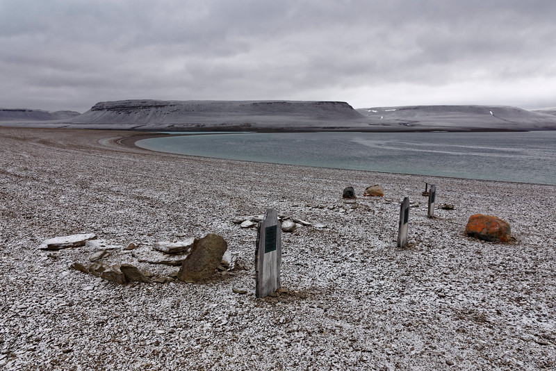 Beechey Island is one of the iconic sites in the saga of the Franklin expedition of 1845.