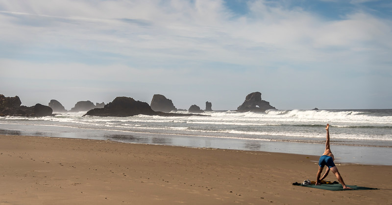 Indian Beach - Ecola State Park - Oregon Coast
