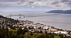 Astoria-Megler Bridge as seen from the top of the Astoria Column