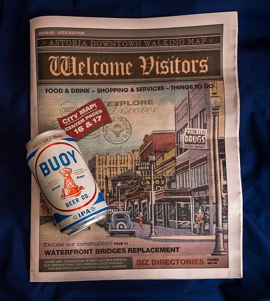 Astoria Visitor Magazine & Astoria Beer