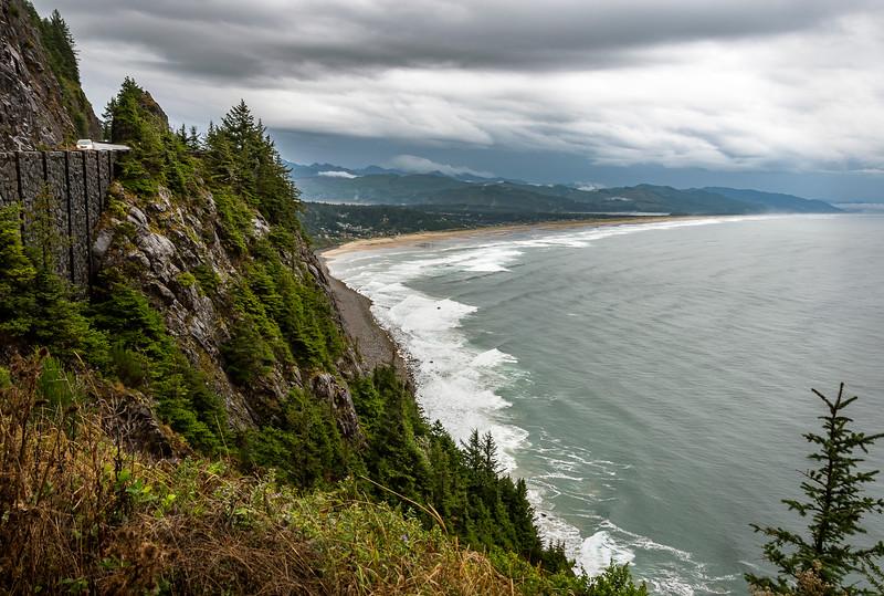 Neahkahnie Mount - Oregon Coast - On the Way to Tillamook
