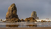 Cannon Beach -  Seastacks at Haystack Rock - Oregon Coast