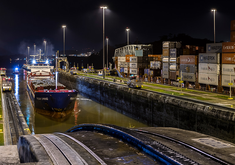 The Panama Canal - Miraflores Locks