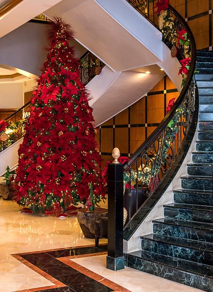Panama City Marriott Celebrating Christmas