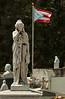 Puerto Rico 2013 - Old San Juan - Old San Juan Cemetery - Santa