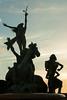 Puerto Rico 2013 - Old San Juan - Raices Fountain at Sunset