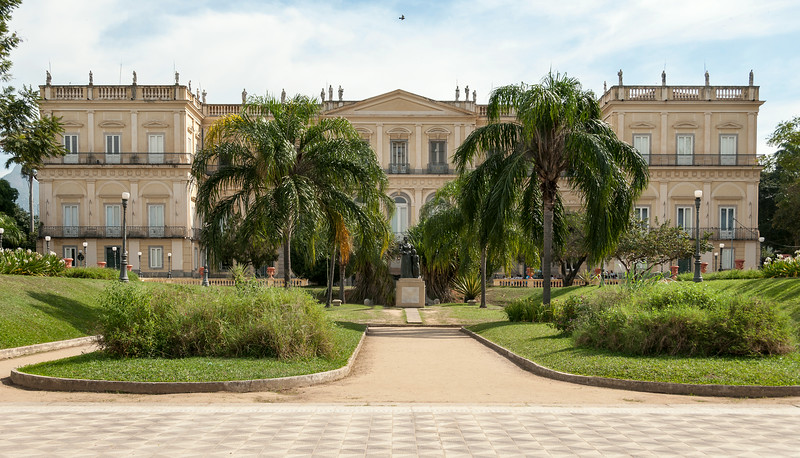 Rio de Janeiro 2013 - National Museum in Quinta da Boa Vista