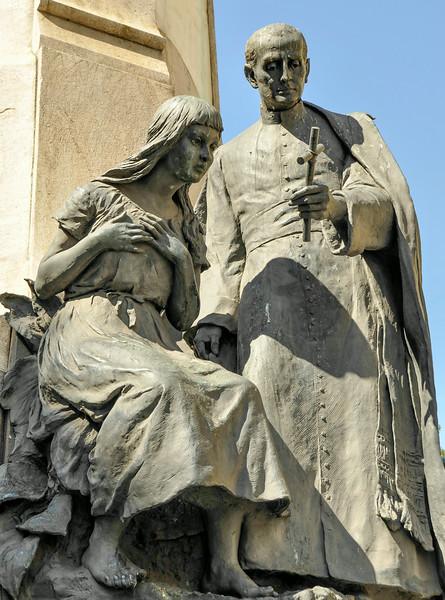 Rio de Janeiro 2013 - Downtown Tour - Cinelandia Square - Monument to Marshal Floriano Peixoto - 2nd Pres of the Republic