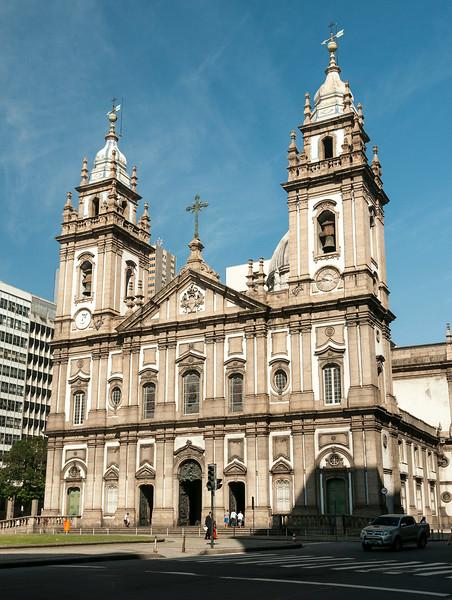 Rio de Janeiro 2013 - Downtown Tour - Candelaria Church