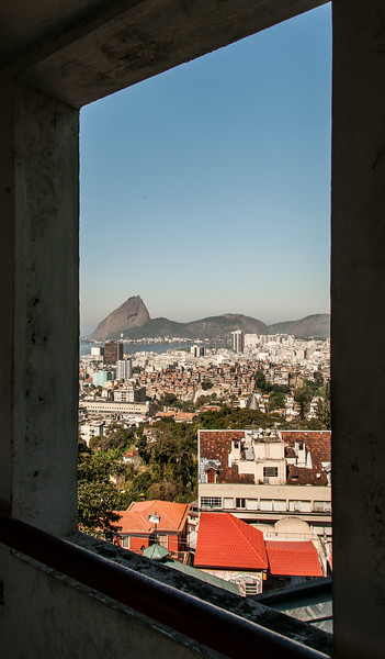 Rio de Janeiro 2013 - Downtown Tour - Santa Teresa - Parque das Ruinas - Panoramic View of Rio